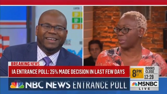 MSNBC Panel Blows Up After Bernie Campaign Co-Chair Nina Turner Calls Mike Bloomberg an 'Oligarch'