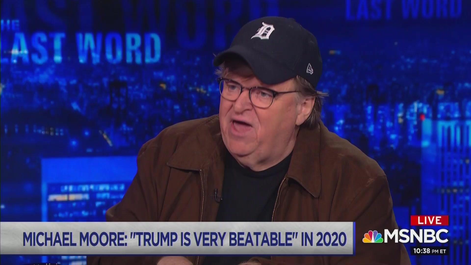 Michael Moore: Trump Is 'Very Beatable' in 2020