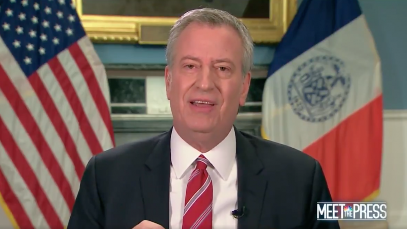 Bill de Blasio: 'If the President Doesn't Act, People Will Die Who Could Have Lived Otherwise'