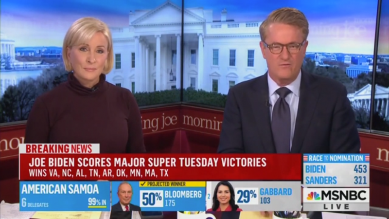 Joe Scarborough: Biden's Super Tuesday Results Make Him 'An Existential Threat' to Trump