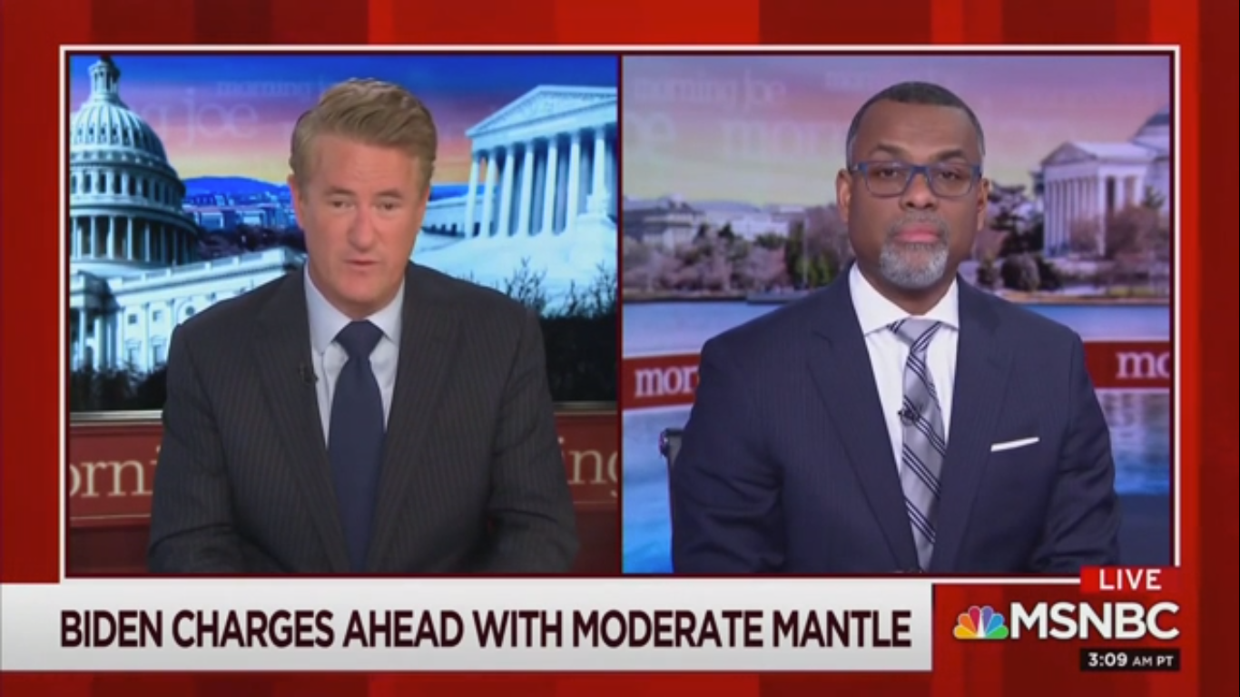 Joe Scarborough: Southern Black Voters 'Can't Take Chances on Esoteric Theories' Like Sanders'