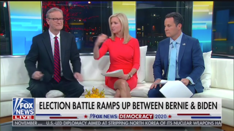 Fox's Ainsley Earhardt: African Americans Don't Support Sanders Because He's 'So Different' from 'Many of the Church Teachings'