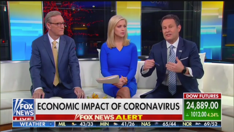Fox's Brian Kilmeade Says China Should Apologize for Coronavirus Because 'They Started It'