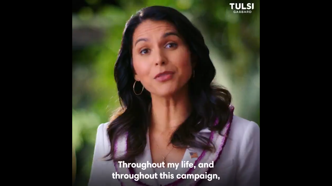 Tulsi Gabbard Drops Out of Presidential Race and Endorses Joe Biden