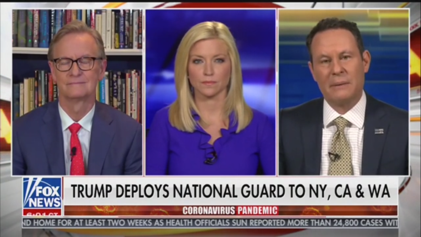 Fox News' Brian Kilmeade Falsely Claims 'No-one's Experienced a Pandemic Before'