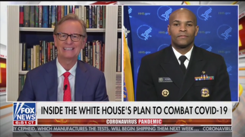Surgeon General Pours Cold Water on Untested Coronavirus Cure Pushed By 'Fox & Friends'