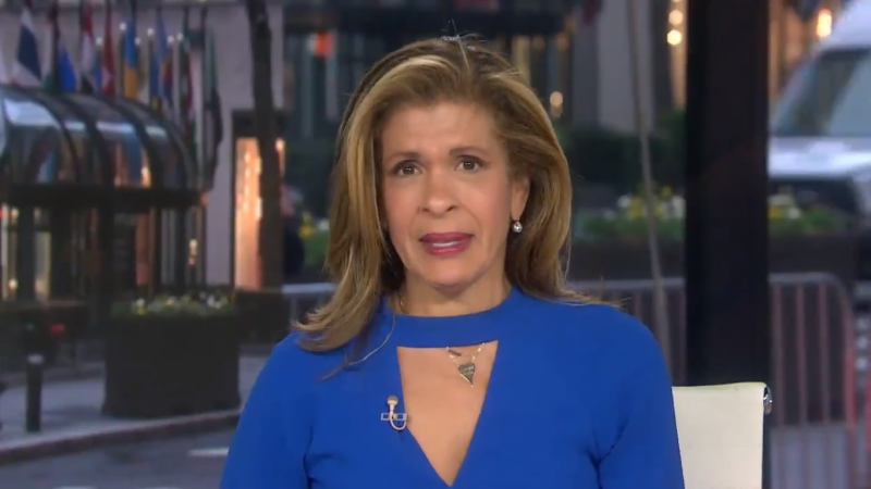 'Today' Show's Hoda Kotb Overcome With Emotion About Coronavirus' Effect on New Orleans