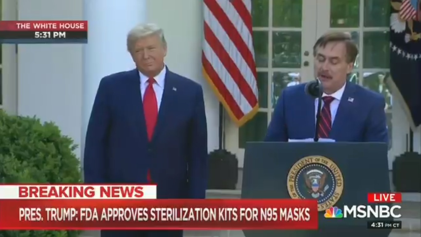 More Than 80,000 Sign Petition to Stop Networks Showing Trump's Live Coronavirus Press Conferences