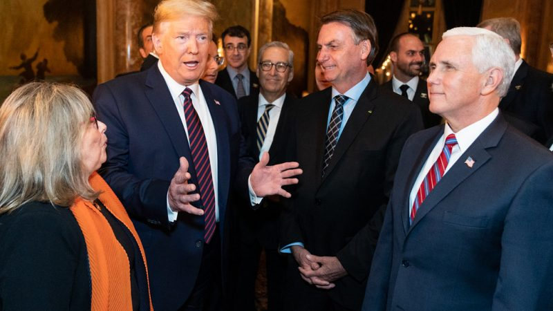 President of Brazil Denies Reports That He Tested Positive for Coronavirus Days After Meeting Trump