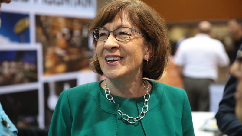 Newsmax Donated to Super PAC Supporting Senator Susan Collins' Re-Election