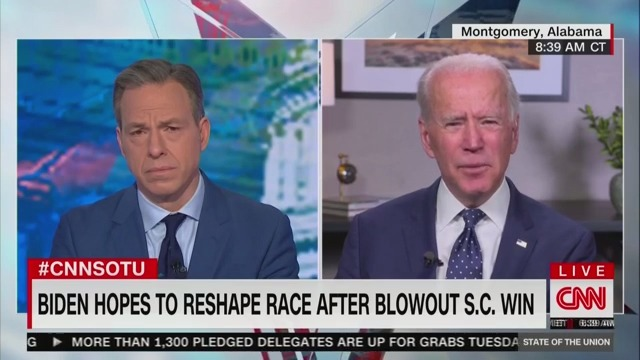 Biden Jabs Bernie After South Carolina Win: People Are Looking for 'Results,' Not 'Revolution'