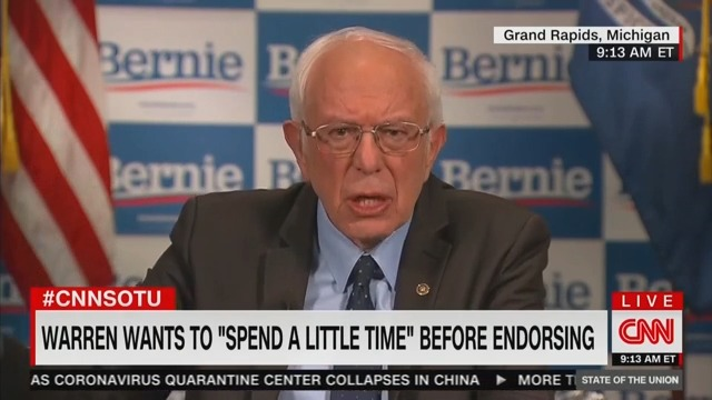 Bernie Appears to Distance Himself From Attacks on Biden's 'Cognitive Decline'