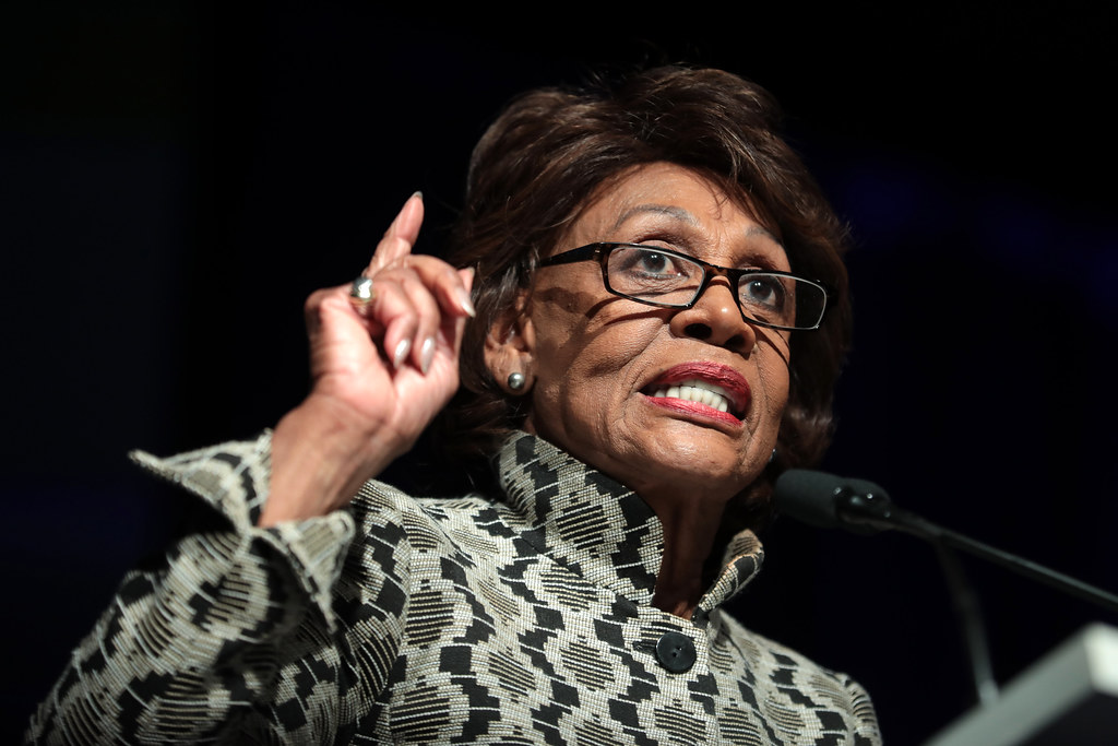 Democratic Rep. Maxine Waters Brands Trump 'Incompetent Idiot' for Sending Protective Gear to China