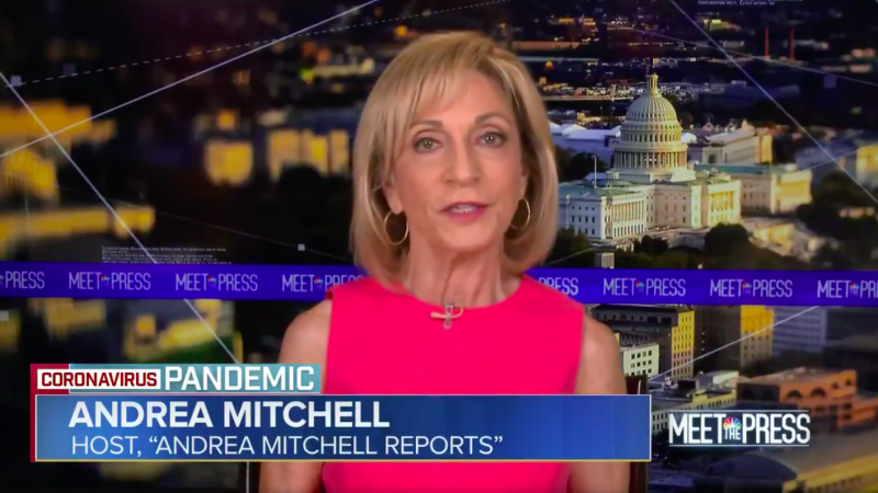 Andrea Mitchell: Credibility of Scientists in White House Is Now On the Line