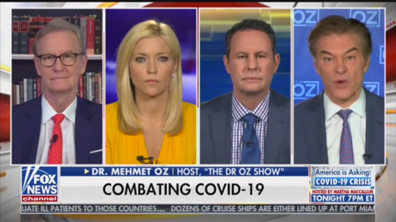 Brian Kilmeade Asks: Is a Coronavirus Cure Not Moving Forward Because People Hate Trump?