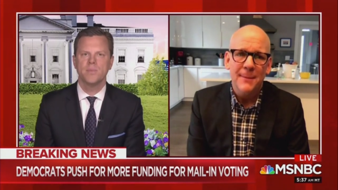 'Morning Joe': Andrew Cuomo Is Like 'The Shadow President' But Biden 'Is in a Terrible Position'