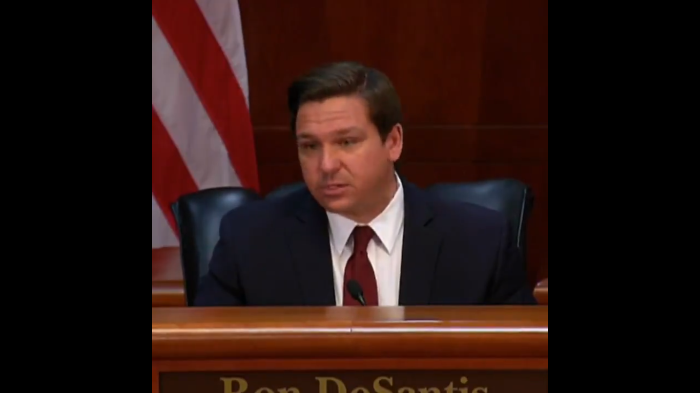 Florida Governor Ron DeSantis Says Coronavirus Hasn't Killed Anyone Under 25. It's Killed Hundreds