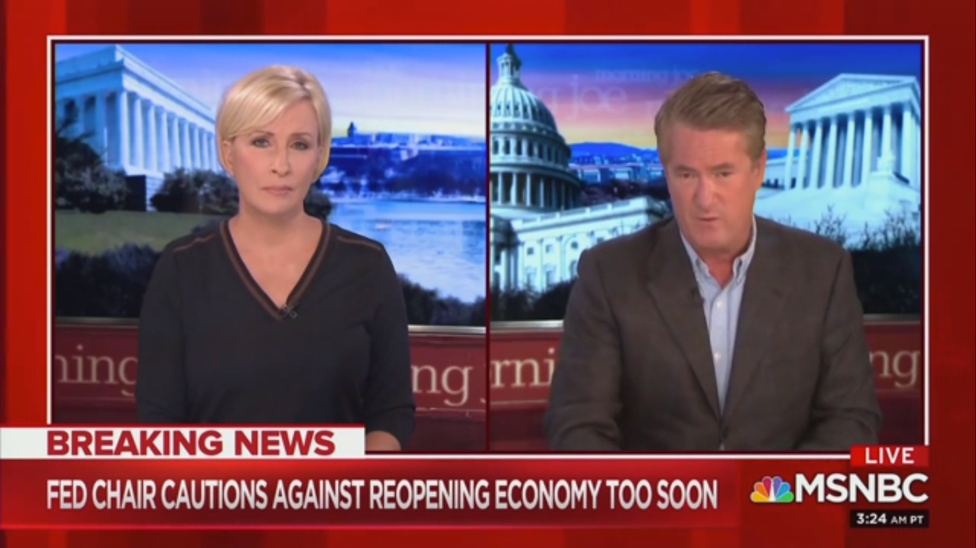 Joe Scarborough to Trump: Fighting Coronavirus Isn't Like 'Inherting $400 Million from Your Daddy'