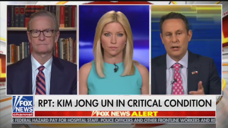 Fox's Brian Kilmeade Wonders If Kim Jong-un Has Coronavirus