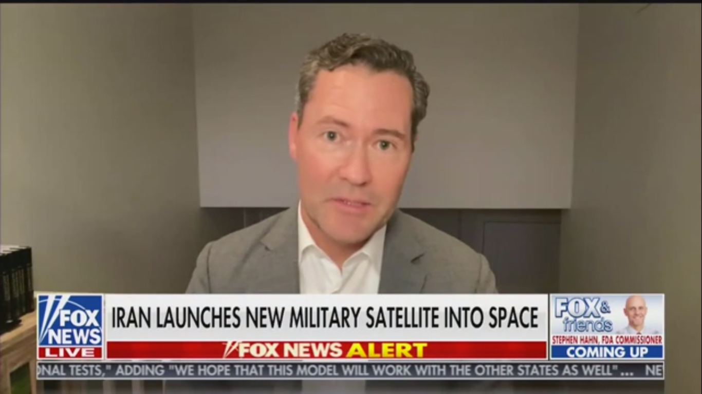 GOP Rep. Michael Waltz: 'Our Entire Economy Is Dependent on What Is Up in Space'