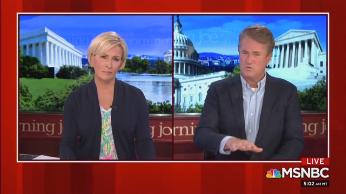 Joe Scarborough: Trump's Behavior Has Made the 25th Amendment 'Null and Void'