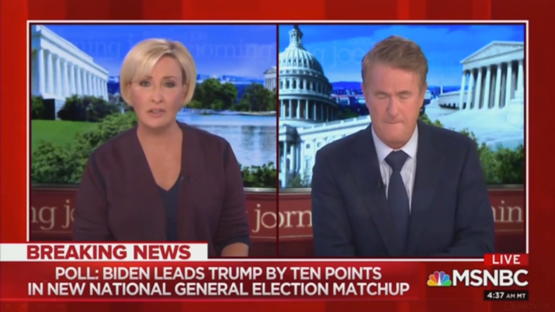 Joe Scarborough: Biden Benefits from Having Less Political Baggage than Clinton