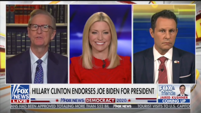 Fox's Brian Kilmeade Defends Brett Kavanaugh While Touting Sexual Assault Allegation Against Biden