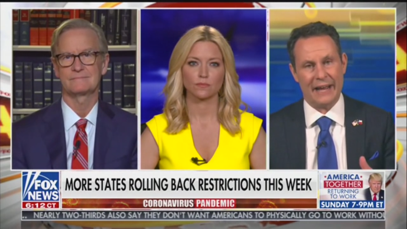 Fox's Brian Kilmeade Tries and Fails to Dunk on Ainsley Earhardt's Sick Mother
