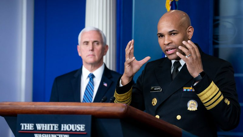 Trump Administration Sidelines Surgeon General Jerome Adams