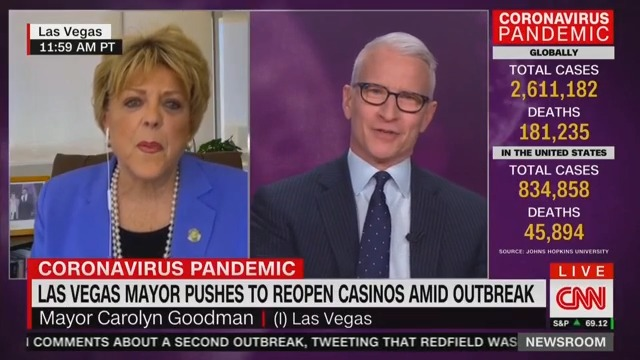 WATCH: Las Vegas Mayor Leaves Anderson Cooper in Shock During Absolutely Insane Interview