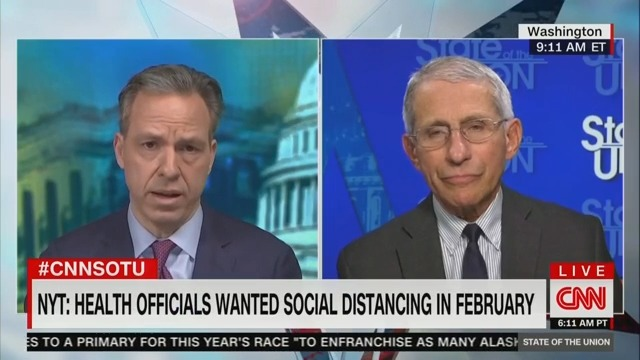 After Bombshell NYT Report, Fauci Acknowledges Lives 'Could Have Been Saved' With Earlier Preventative Measures