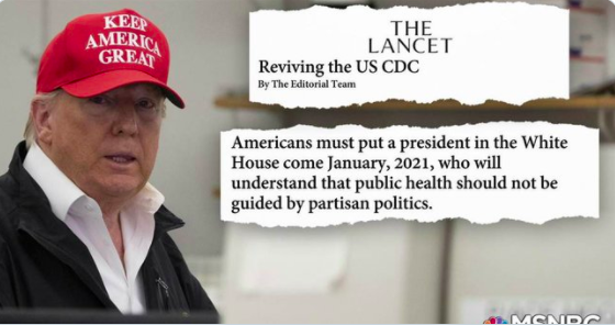 Prominent Medical Journal Urges Americans Not to Vote for Trump