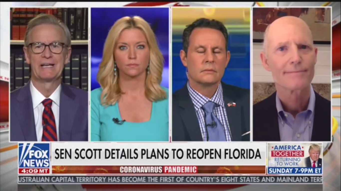 Fox's Brian Kilmeade Wonders if Closing California Beaches Was to Hurt 'Conservative Enclaves'