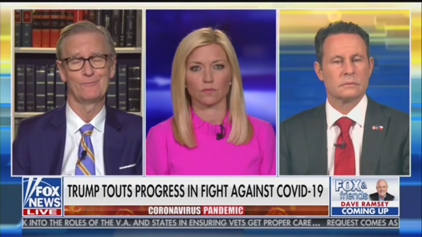 'Fox & Friends' to Lockdown Protesters: Carrying Nazi Flags 'Squelches Your Message'