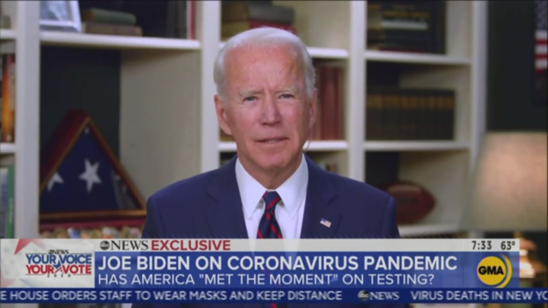 Watch: Biden Dismisses Trump's 'Obamagate' Claims as 'Diversion' and a 'Game This Guy Plays'