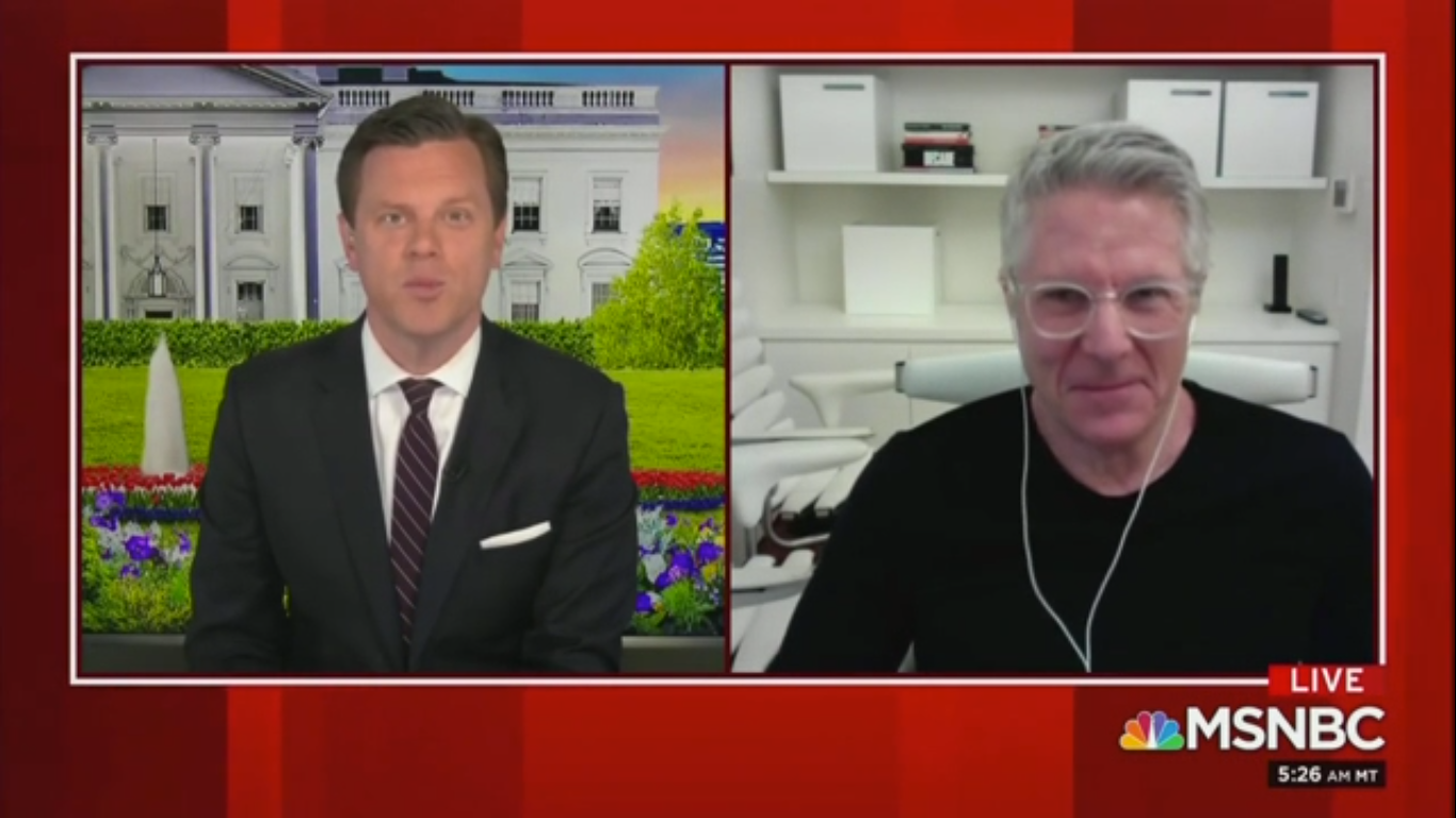 MSNBC's Donny Deutsch Urges Biden to 'Stay in the Basement' for the Good of His Campaign