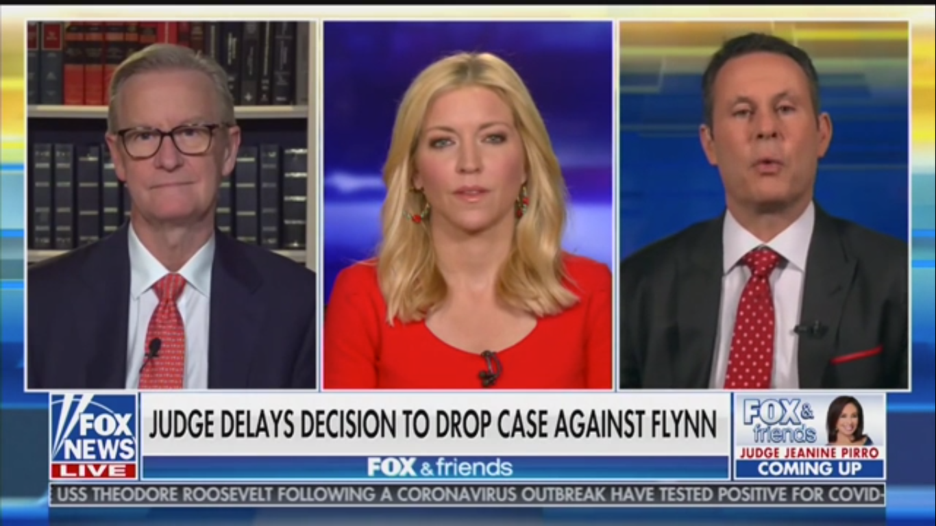 Fox's Brian Kilmeade: Judge May Have Delayed Michael Flynn Case Hoping 'We Get a President Biden'