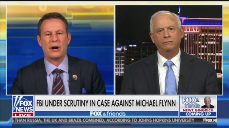 'Fox & Friends' Brian Kilmeade Blasts Media for Not Treating Michael Flynn Like Martin Luther King