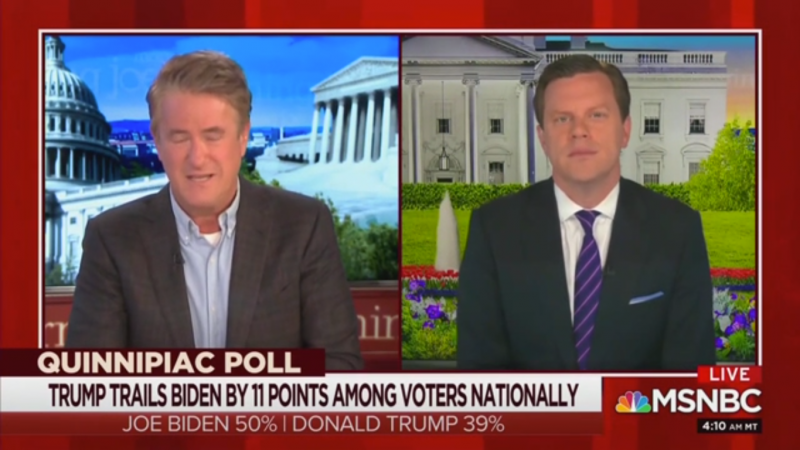 'Morning Joe': Biden 'Has Opened Up an 11 Point Lead by Doing Almost Nothing'