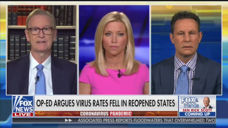 Fox's Brian Kilmeade Compares Lockdowns to Dropping 'A Nuclear Bomb on a Country'