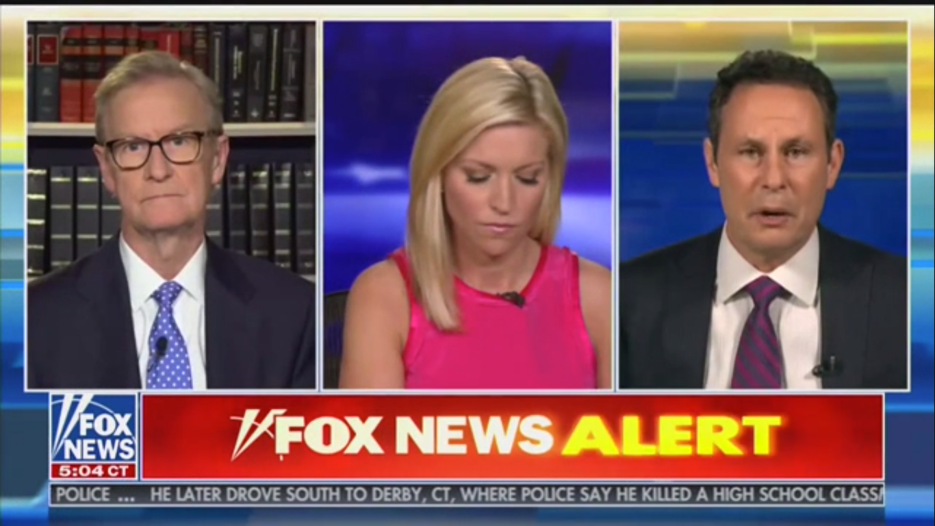 Fox's Brian Kilmeade: George Floyd Protesters Shouldn't 'Put Cops' Lives in Jeopardy'