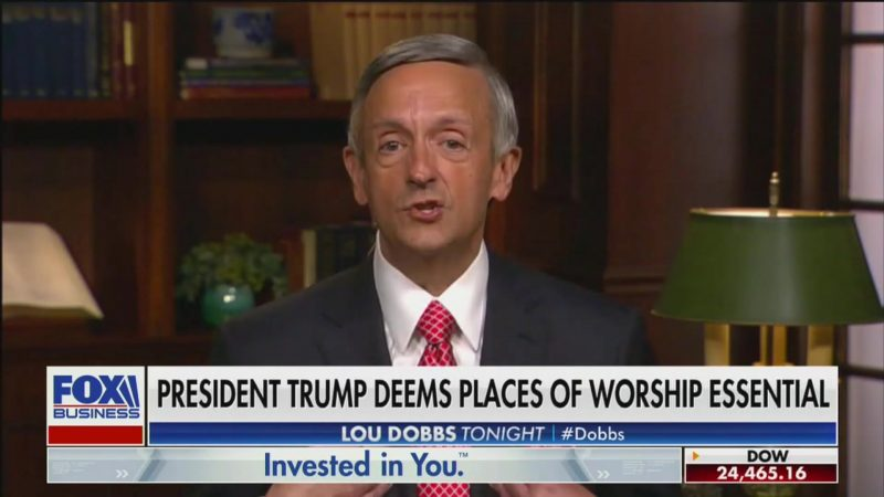 Trump's Favorite Pastor Says Keeping Churches Closed Is 'Anti-God' and 'Anti-American'