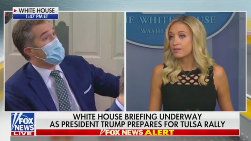 McEnany Cites Lincoln While Trying to Explain Trump's Hiring of 'Incompetent,' 'Dumb as a Rock' People