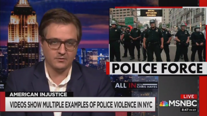 Chris Hayes Says Cuomo and de Blasio are Trying to 'Gaslight the Public' on Police Beating Protesters