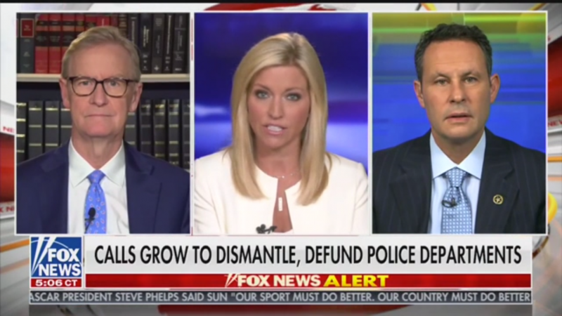 Fox's Brian Kilmeade: Defunding the Police Is 'Insane', 'Craziest Conversation' in Decades
