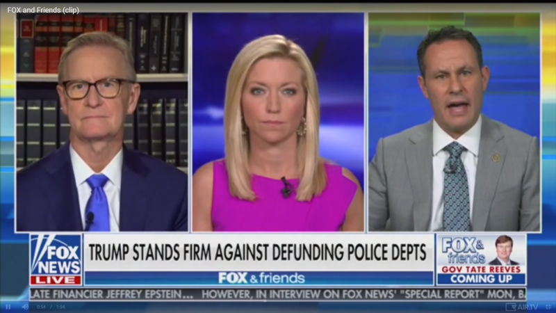 Fox's Brian Kilmeade: Trump Should Talk to African American Leaders to Get 'Their Side of the Story' on Police Brutality