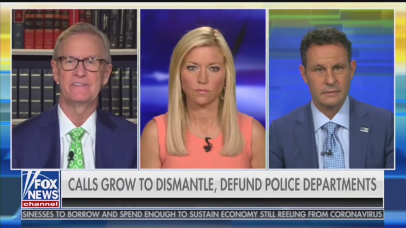 Fox's Brian Kilmeade: 'This Country Will Be in Chaos in Three Days' if We Follow Seattle's Example