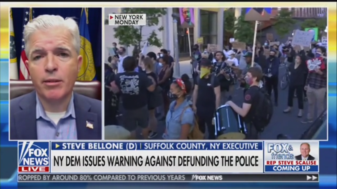 Democrat Tells Fox News: Defunding Police Endangers Battle with MS-13