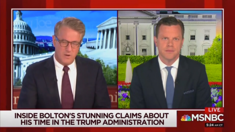 Joe Scarborough: Nobody in the Trump Administration Will Invoke the 25th Amendment 'When We Need It Most'