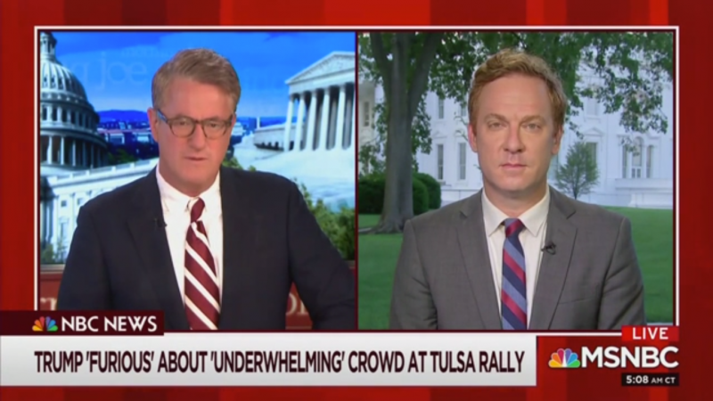 Joe Scarborough: Will Trump Risk Another Rally after Tulsa's 'Weak Performance'?